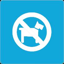 禁止宠物入内