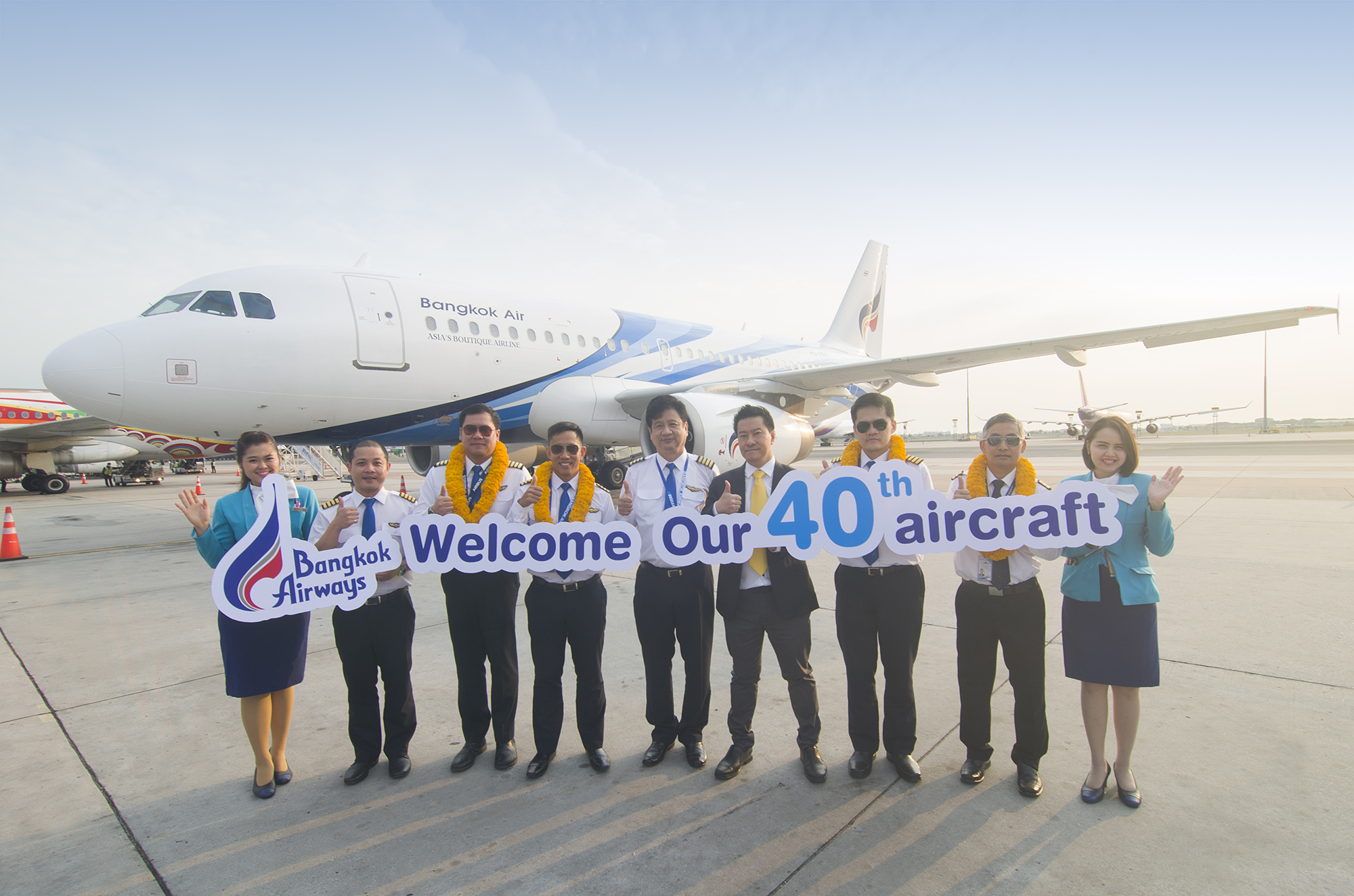 Bangkok Airways welcomes 40th aircraft to its fleet